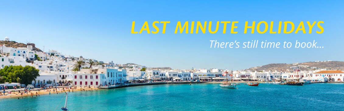 last minute holidays with On the Beach