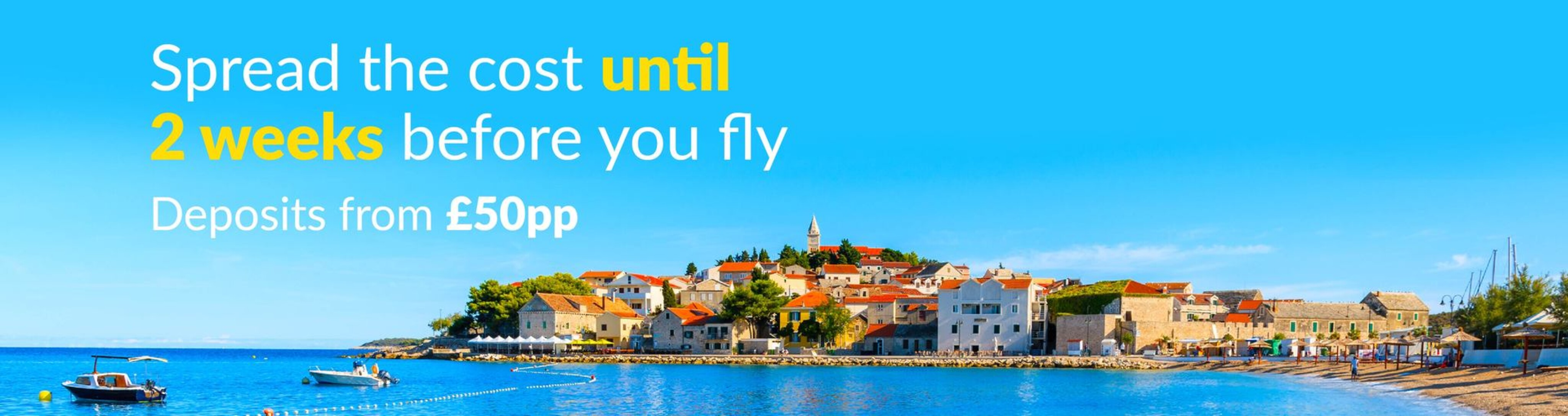 Low Deposit Holidays Cheap Deposit Holidays From On The