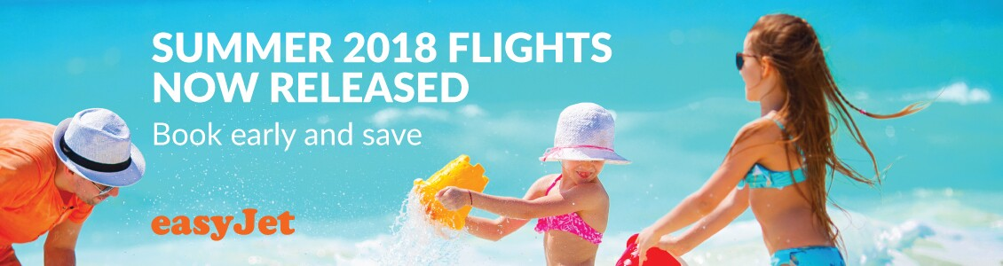 Cheap summer 2018 flights now released