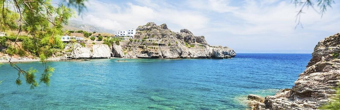 En strand i Mallorca