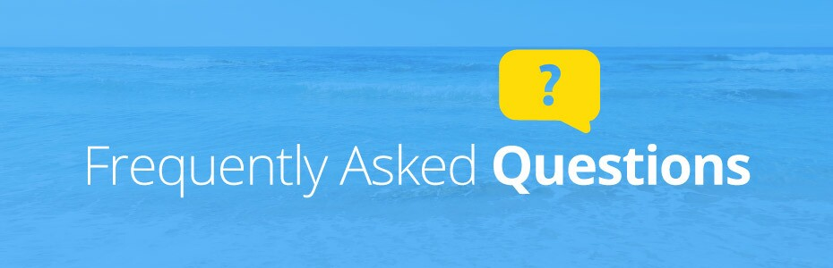 FAQs - frequently asked questions banner