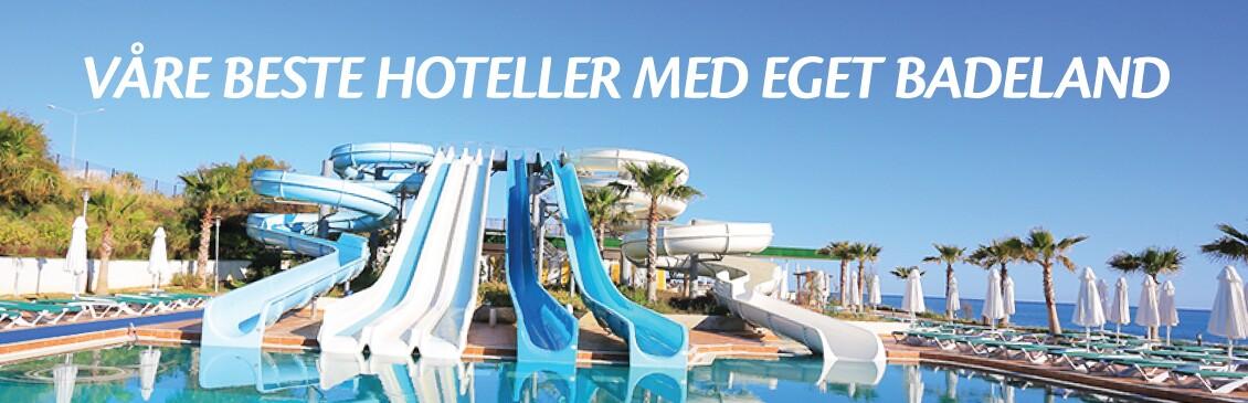 Hotell med badeland