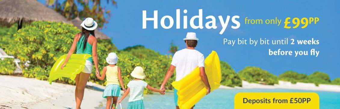 Cheap holidays with On the Beach