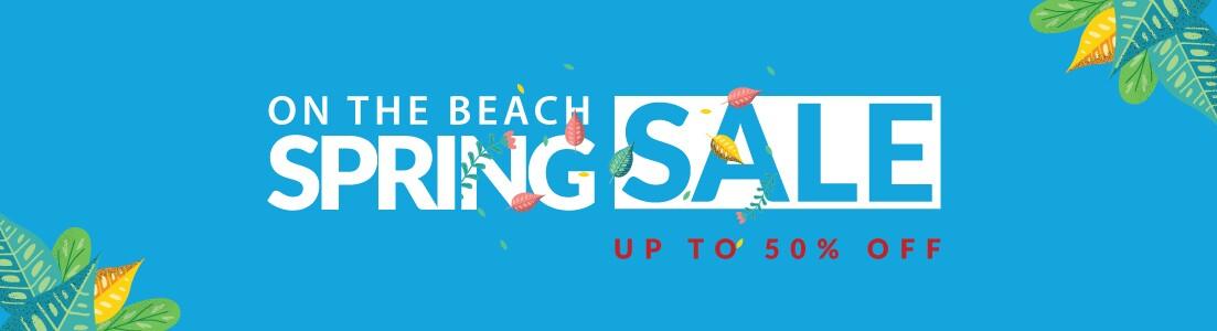 On the Beach Sale