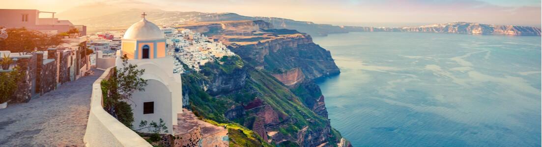 Hotell på Santorini