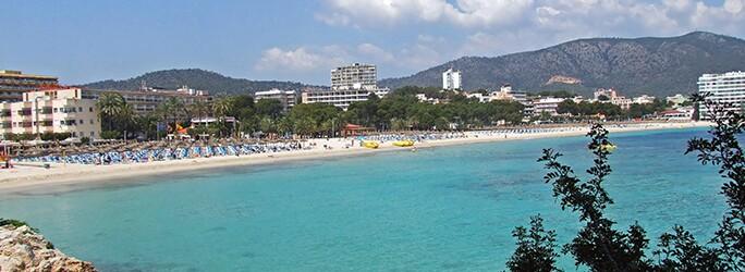 Book a range of hotels in Palma Nova