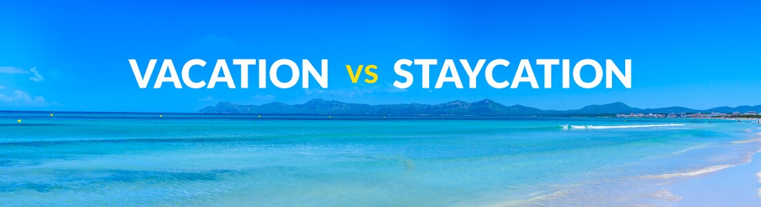Vacation vs Staycation | What's cheaper? | On the Beach