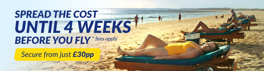 Low Deposit Holidays with On the Beach
