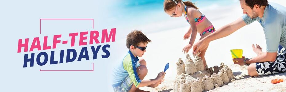 Half Term Holidays with On the Beach