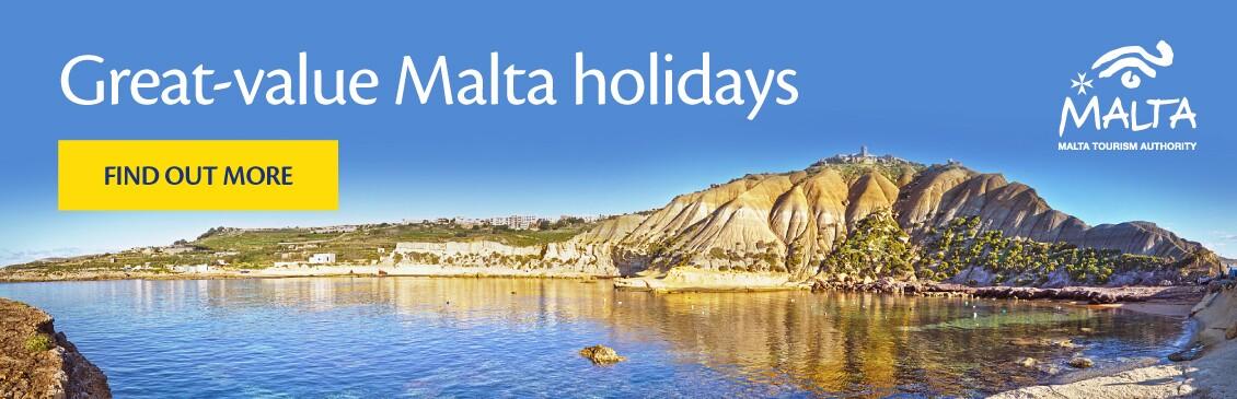 Cheap Malta Holidays with On the Beach