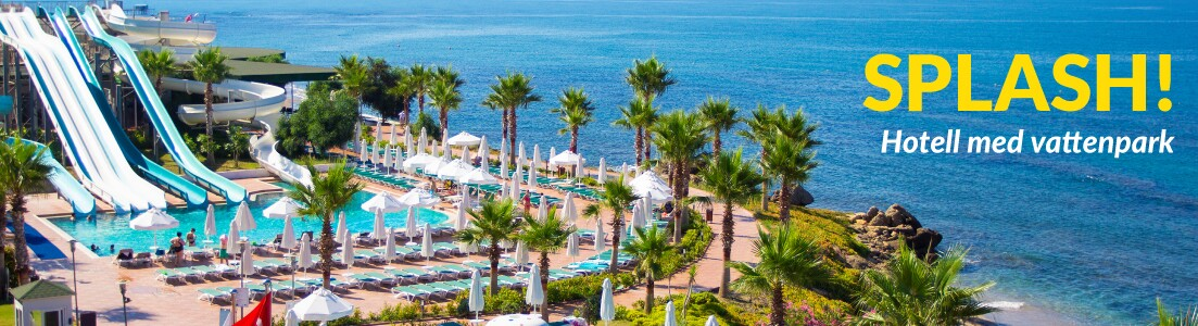 Bild på ett hotell med vattenpark i Rhodos