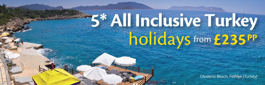 All Inclusive Turkey Holidays