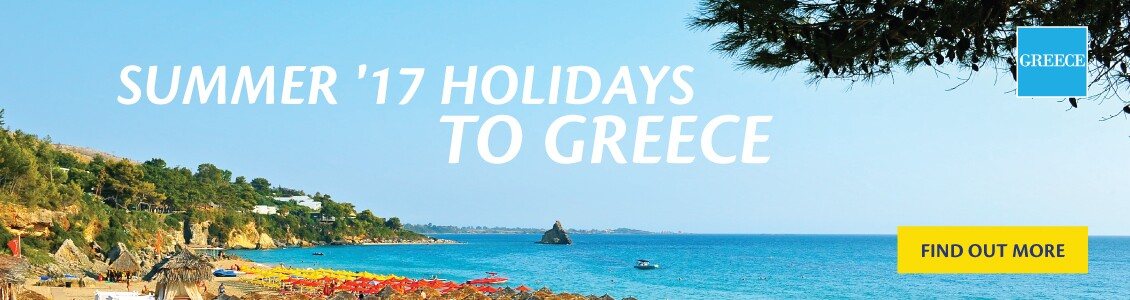 Summer 2017 Holidays to Greece