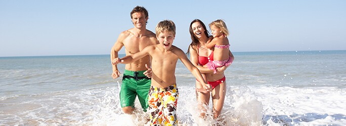 Kids Stay Free when you book with On the Beach