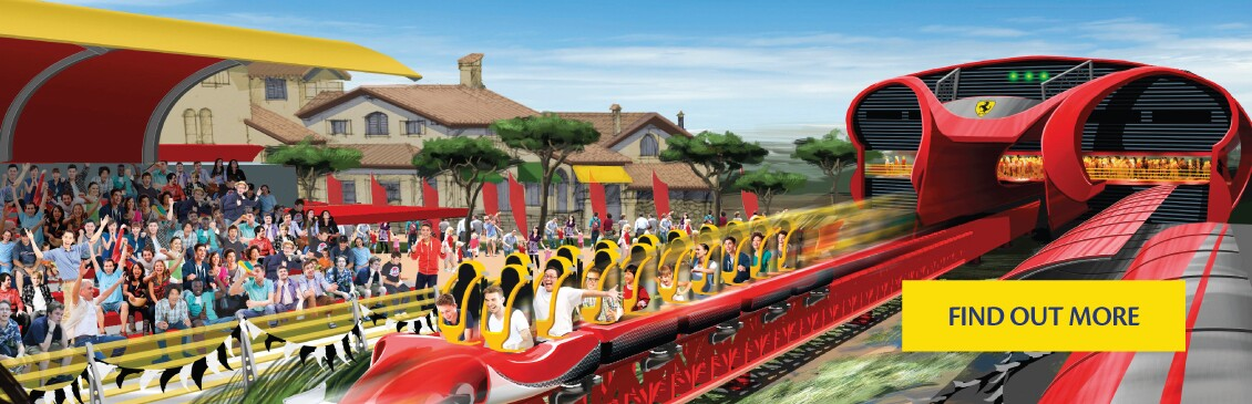Visit Ferrari Land in PortAventura, opening soon