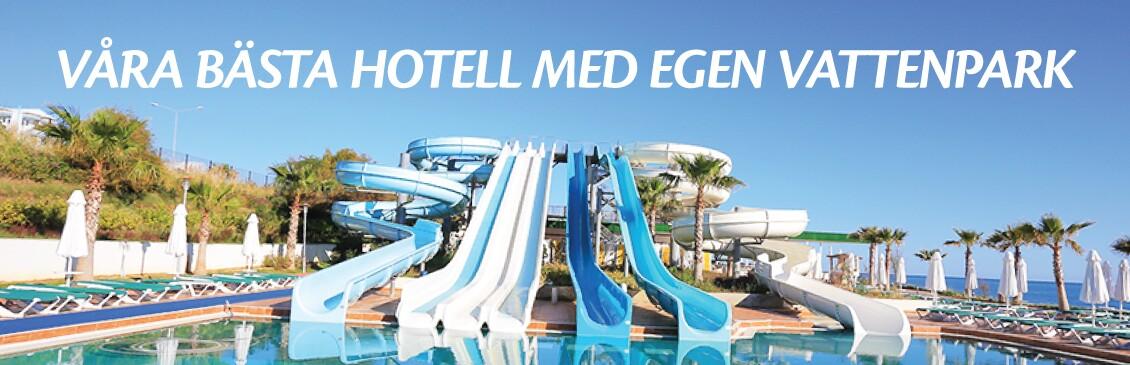 Hotell med vattenpark