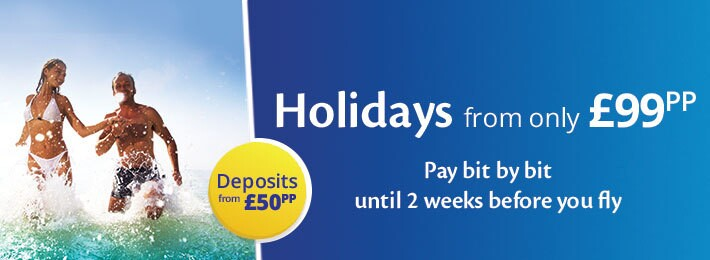 Cheap Holidays from £99pp with On the Beach