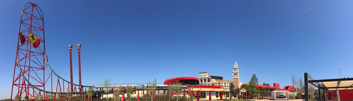 Ferrari Land at PortAventura World