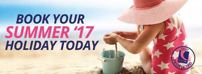 2017 Summer Holidays on the beach