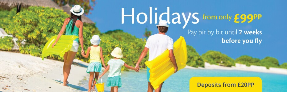 Cheap Holidays 2017 from £99pp with On the Beach