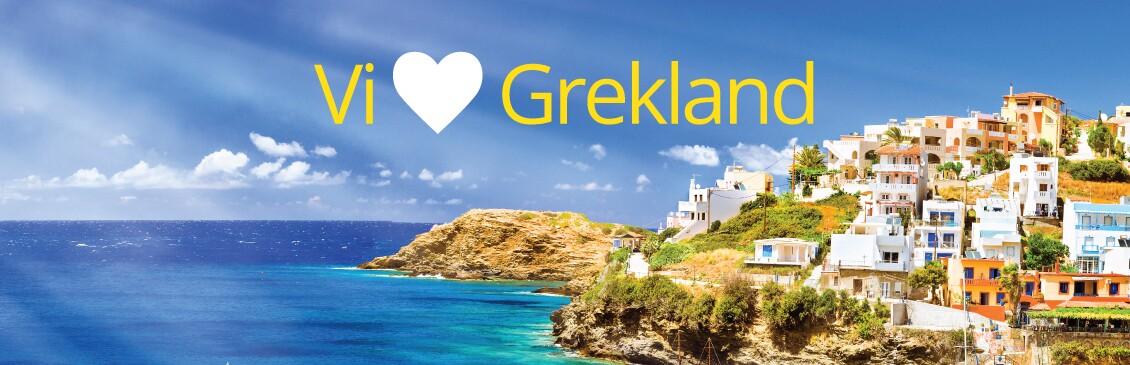 Vi älskar Grekland