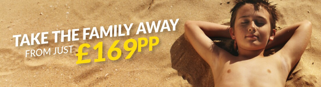 Family Holidays with deposits from £30pp