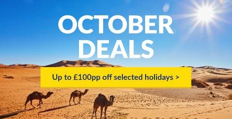 October Tunisia holidays