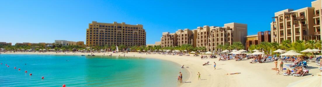Strand i Ras Al Khaimah