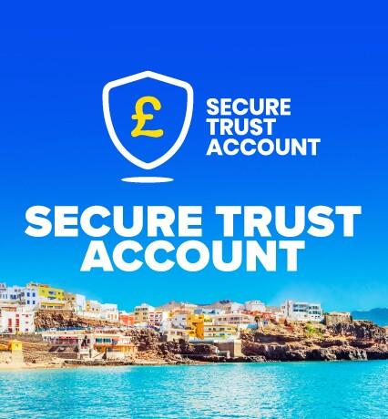 Secure trust account