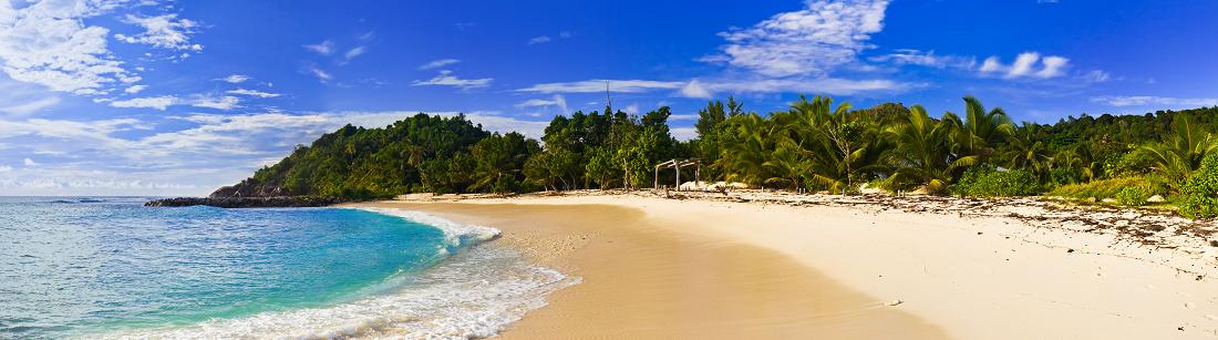 Bild på strand