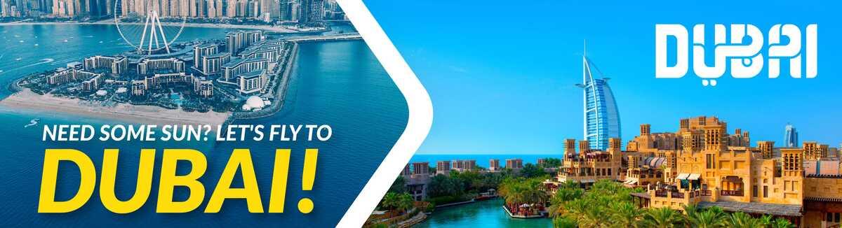 Reis på ferie til Dubai