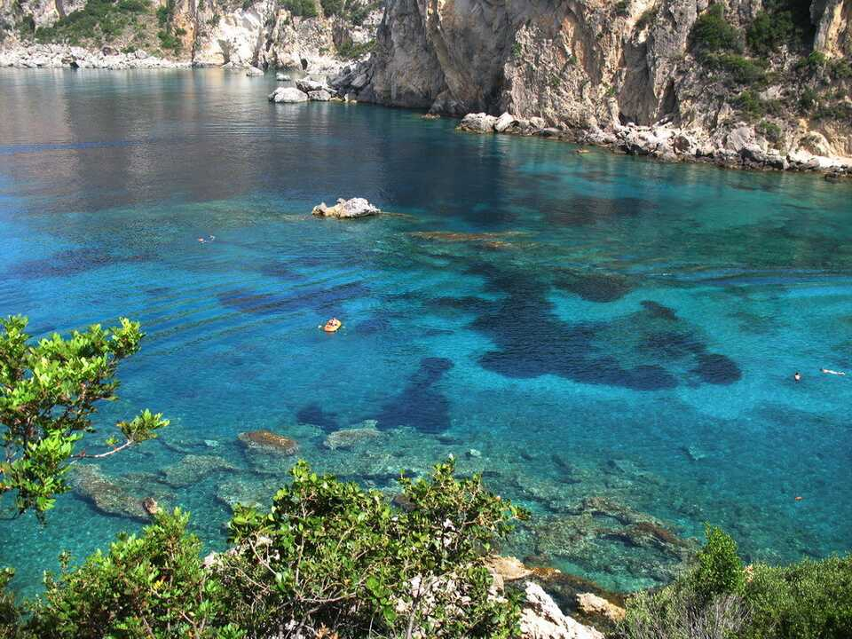 Cheap holidays to Paleokastritsa  On the Beach