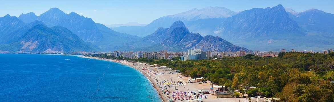 Reis på ferie til Antalya