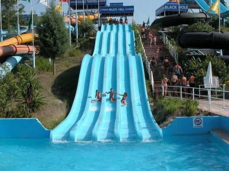 Aqualand Resort - Agios Ioannis Parelion, Corfu  On the Beach