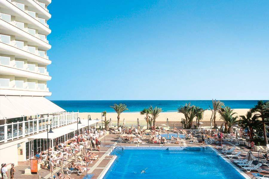 Riu Oliva Beach Corralejo Fuerteventura On The Beach