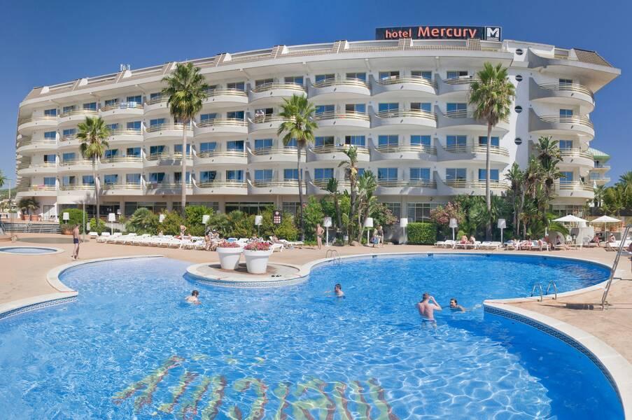 Mercury hotel santa susanna costa brava on the beach for Hotel a barcellona 3 stelle