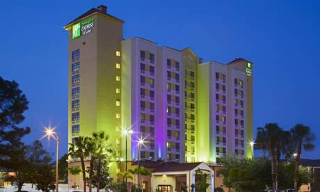 Holiday inn express hotel suites nearest universal orlando