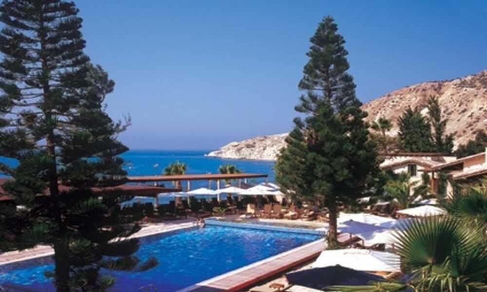 Columbia Beach Hotel Pissouri Paphos On The Beach