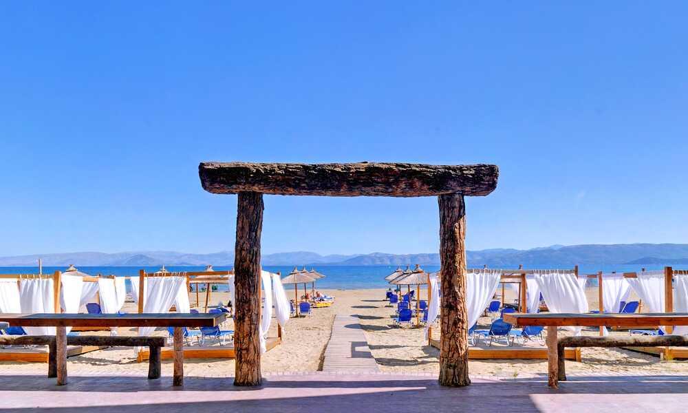 Island Beach Kavos Corfu On the Beach