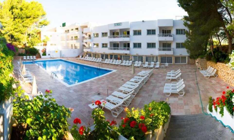 El Pinar - Cala Llonga, Ibiza   On the Beach