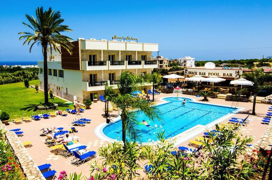 Cheap Lads Holidays >> Real Palace Hotel & Studios - Malia, Crete East | On the Beach