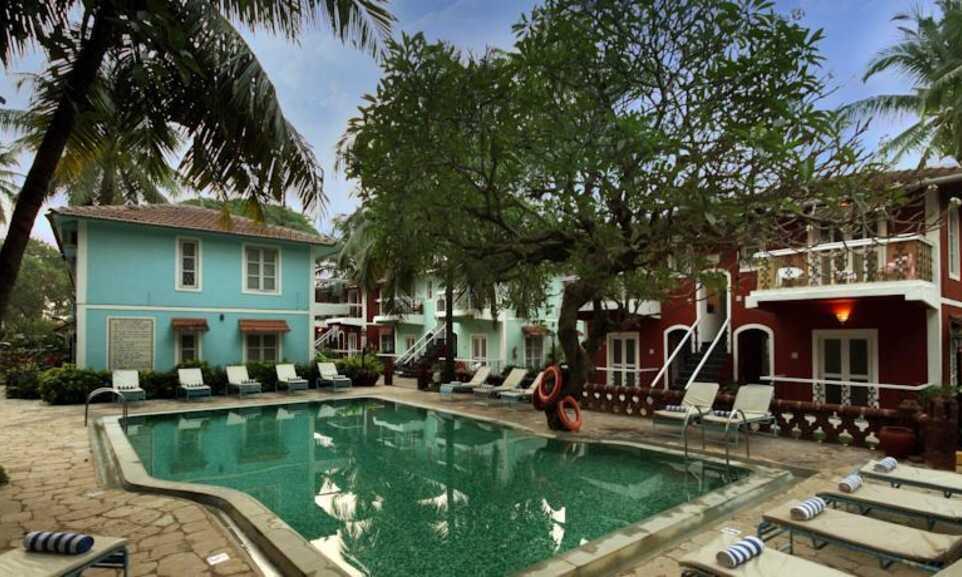 Aldeia Santa Rita Hotel Candolim Goa On The Beach
