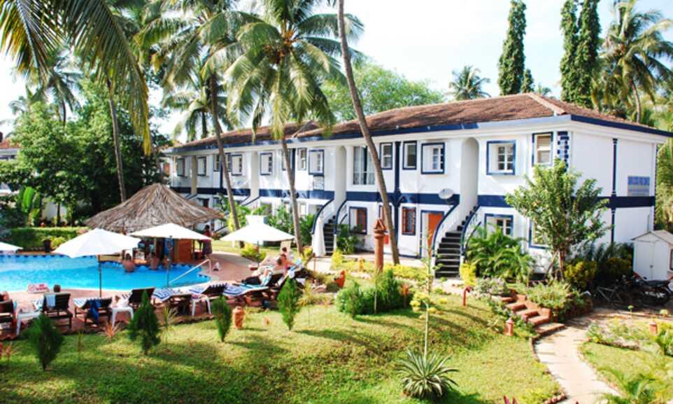 Santana Beach Resort Candolim Goa On The Beach