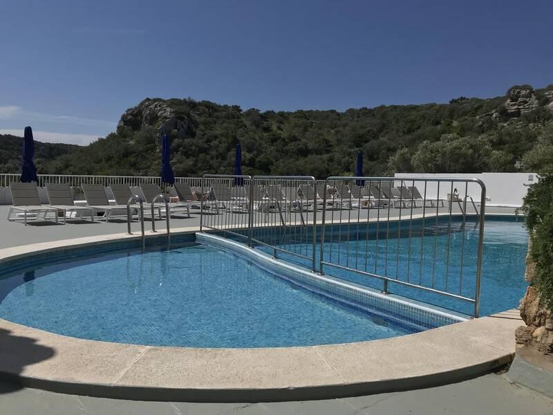 Ibb Paradis Blau Cala N Porter Menorca On The Beach