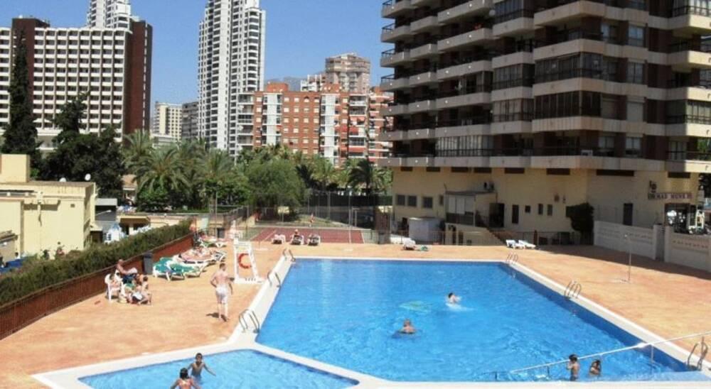 Acuarium ii apartamentos in benidorm costa blanca on the beach - Apartamentos en costa blanca ...