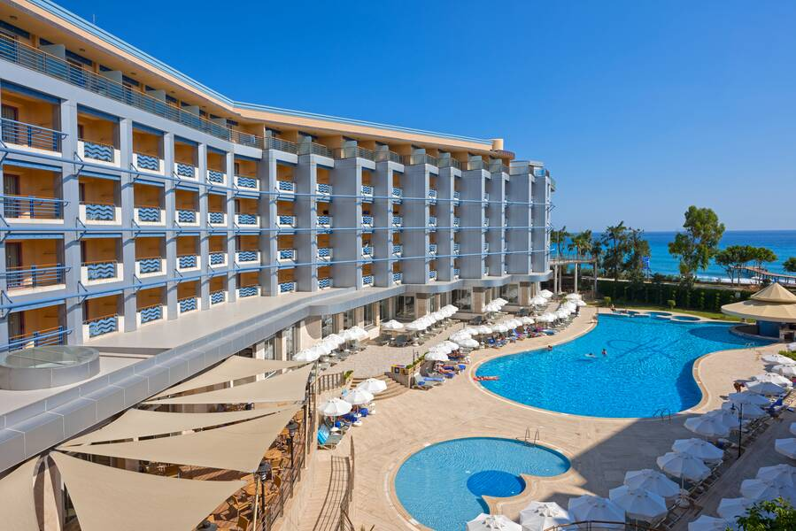 Grand Kaptan Hotel - Alanya, Antalya   On the Beach