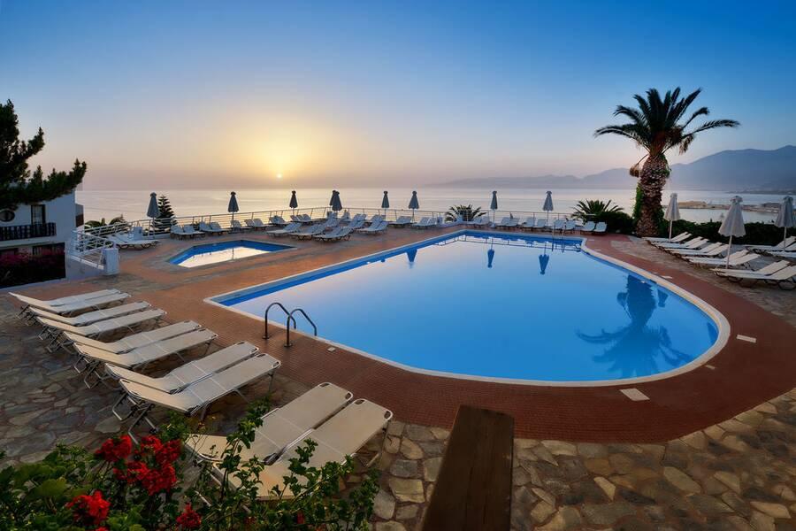 Hersonissos Village Hersonissos Crete On The Beach