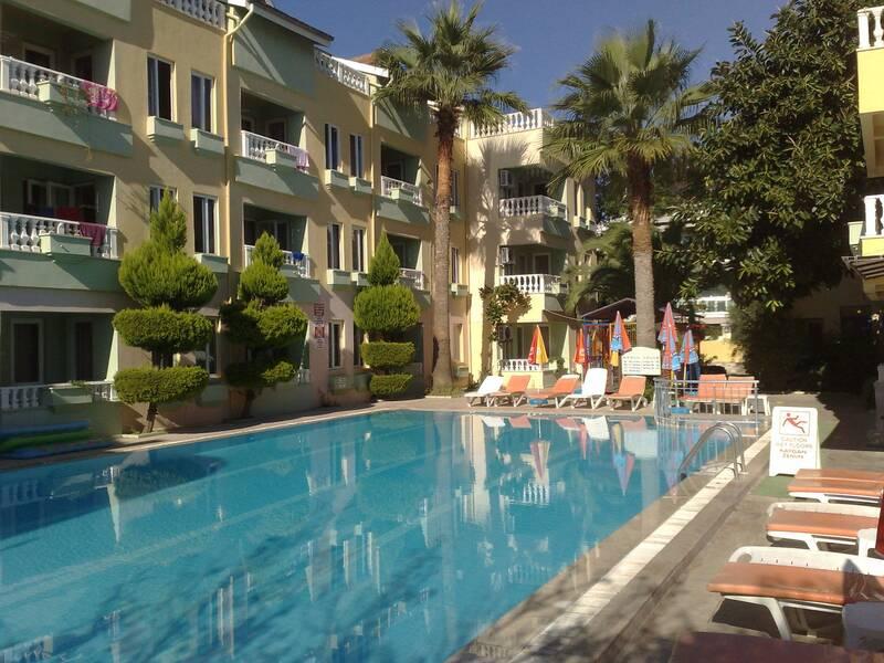 Club Sunset Apartments Marmaris Dalaman On The Beach