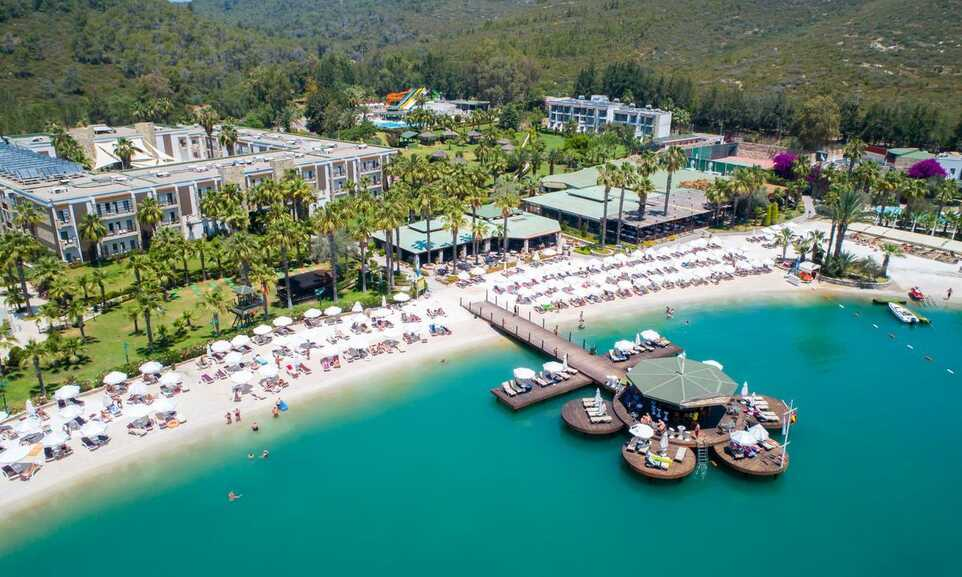 the best attitude bec93 85b57 Crystal Green Bay Resort and Spa Bodrum
