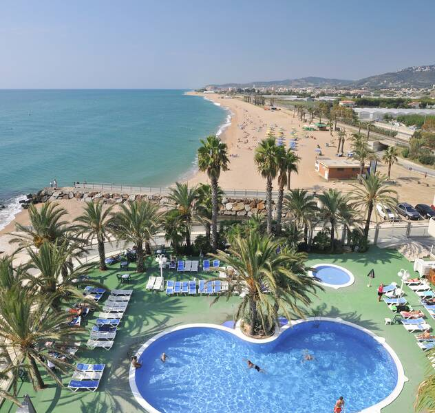 Hotel Caprici Santa Susanna Costa Brava On The Beach